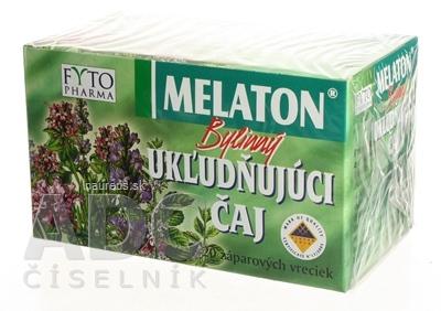 FYTOPHARMA, a.s. FYTO MELATON Bylinný UKĽUDŇUJÚCI ČAJ 20x1,5 g (30 g) 20 x 1.5 g
