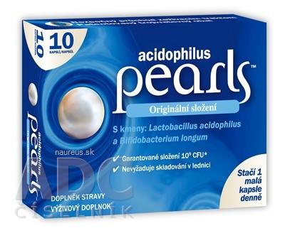 ALIFARM S.A. acidophilus pearls cps (inov. 2021) 1x10 ks