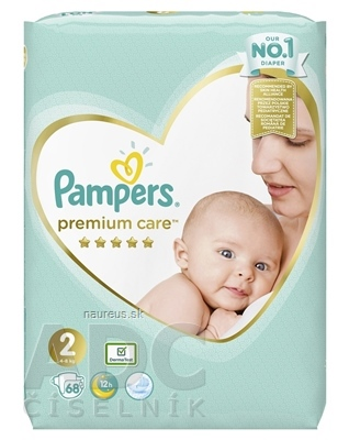 PROCTER & GAMBLE PAMPERS PREMIUM CARE VP 2 Mini