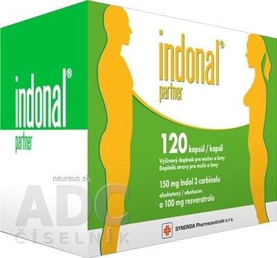 Synergia Pharmaceuticals, s.r.o. Indonal partner 120 ks