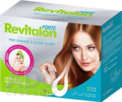 VITAR s.r.o. VITAR Revitalon FORTE cps 90 + darček: turban na vlasy, 1x1 set 90 ks