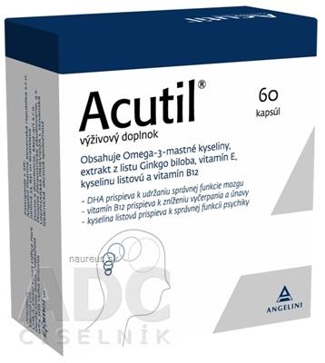 Efamol Ltd. ACUTIL cps 1x60 ks 60 ks