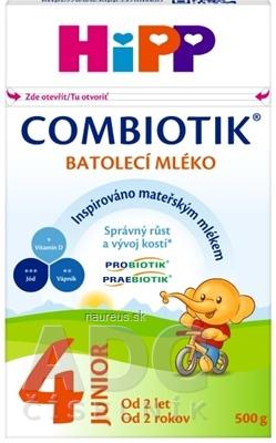 Hipp Beteiligungs AG HiPP 4 JUNIOR Combiotik mliečna batoľacia výživa (od 2 rokov ) 1x500 g