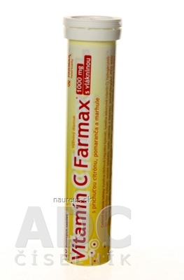 SVUS Pharma a.s. FARMAX Vitamín C tbl eff1x20 ks 20 ks