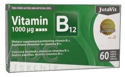 JuvaPharma Kft. JutaVit Vitamín B12 1000 µg
