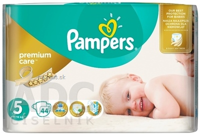 Procter and Gamble DS Polska Sp. z o.o. PAMPERS PREMIUM CARE 5 Junior 88 x 44 ks