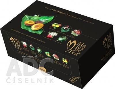 BIOGENA CB spol. s r.o. Biogena Majestic Tea MAXI kolekcia čajov: 6 druhov po 10 nálevových vrecúšok 1x60 ks (135 g)