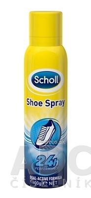 RECKITT BENCKISER Scholl SHOE Deodorant Sprej do topánok Dual-Activ formula, 24h, 1x150 ml 150 ml