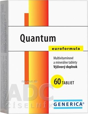 GENERICA spol. s r.o. GENERICA Quantum Euroformula tbl 1x60 ks 60 ks