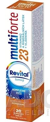 VITAR s.r.o. Revital multiforte šumivý tbl eff s príchuťou pomaranč 1x20 ks 20 ks