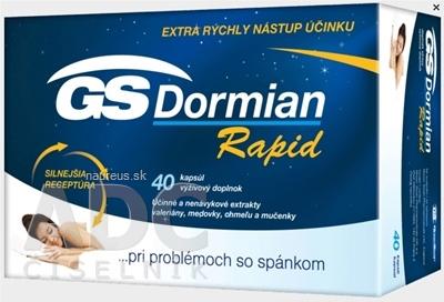 GREEN - SWAN PHARMACEUTICALS CR, a.s. GS Dormian Rapid cps 1x40 ks 40 ks
