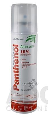 MedPharma, spol. s r.o. MedPharma PANTHENOL 10% CHLADIVÝ SPREJ Sensitive, s Aloe vera 1x150 ml