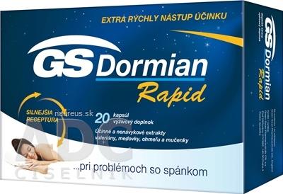 GREEN - SWAN PHARMACEUTICALS CR, a.s. GS Dormian Rapid cps 1x20 ks 20 ks