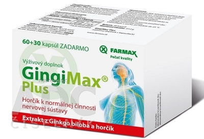 SVUS Pharma a.s. FARMAX GingiMax Plus cps 60+30 ks zadarmo (90 ks) 90 ks