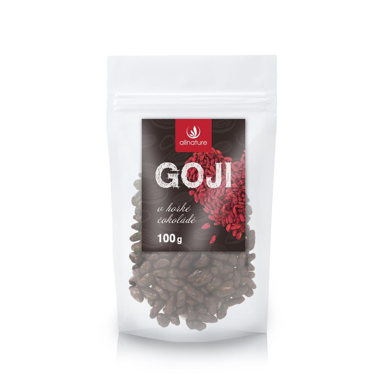 Allnature Goji v horkej čokoláde 100 g 100 g