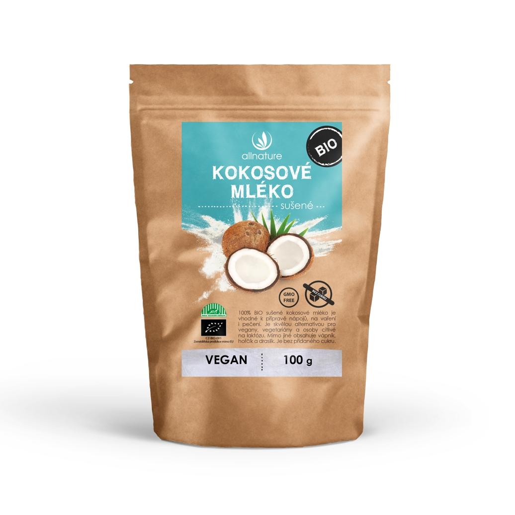 Allnature Kokosové mlieko sušené BIO 100 g 100 g