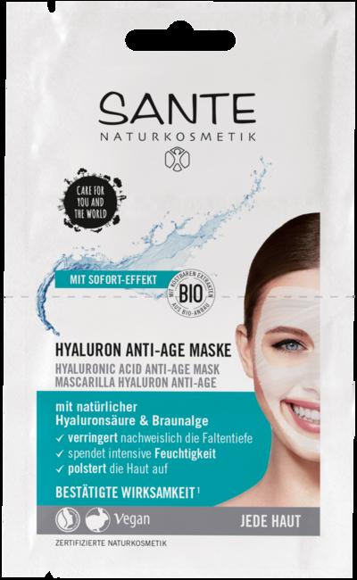 Anti-Age maska s kyselinou hyalúronovou - 2x4ml