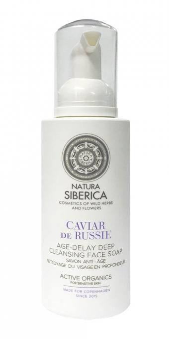 Siberie Blanche - Hĺbkovo čistiace mydlo na tvár s omladzujúcimi účinkami