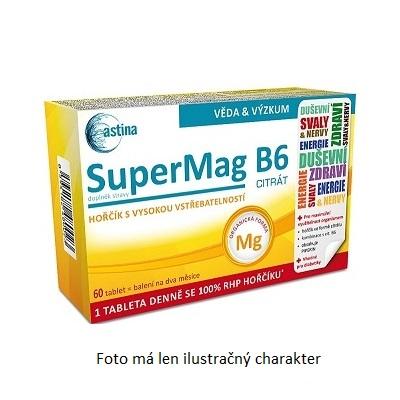 Astina Pharm SuperMag B6 30 tbl. Astina Pharm 30 tbl