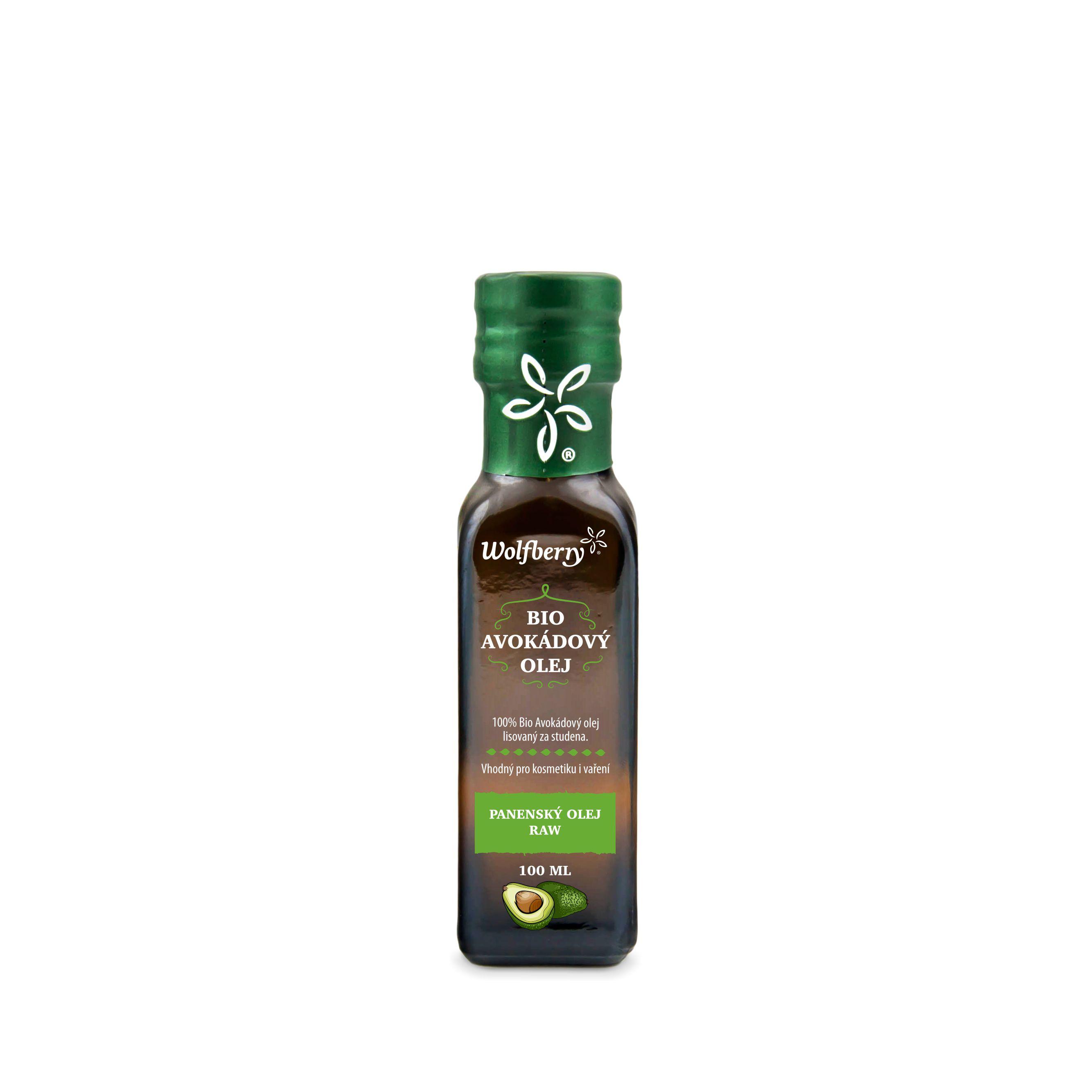 Avokádový olej BIO 100 ml Wolfberry *