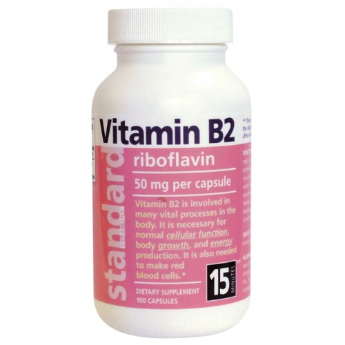 Vitamín B2 20 mg 100 kapsúl