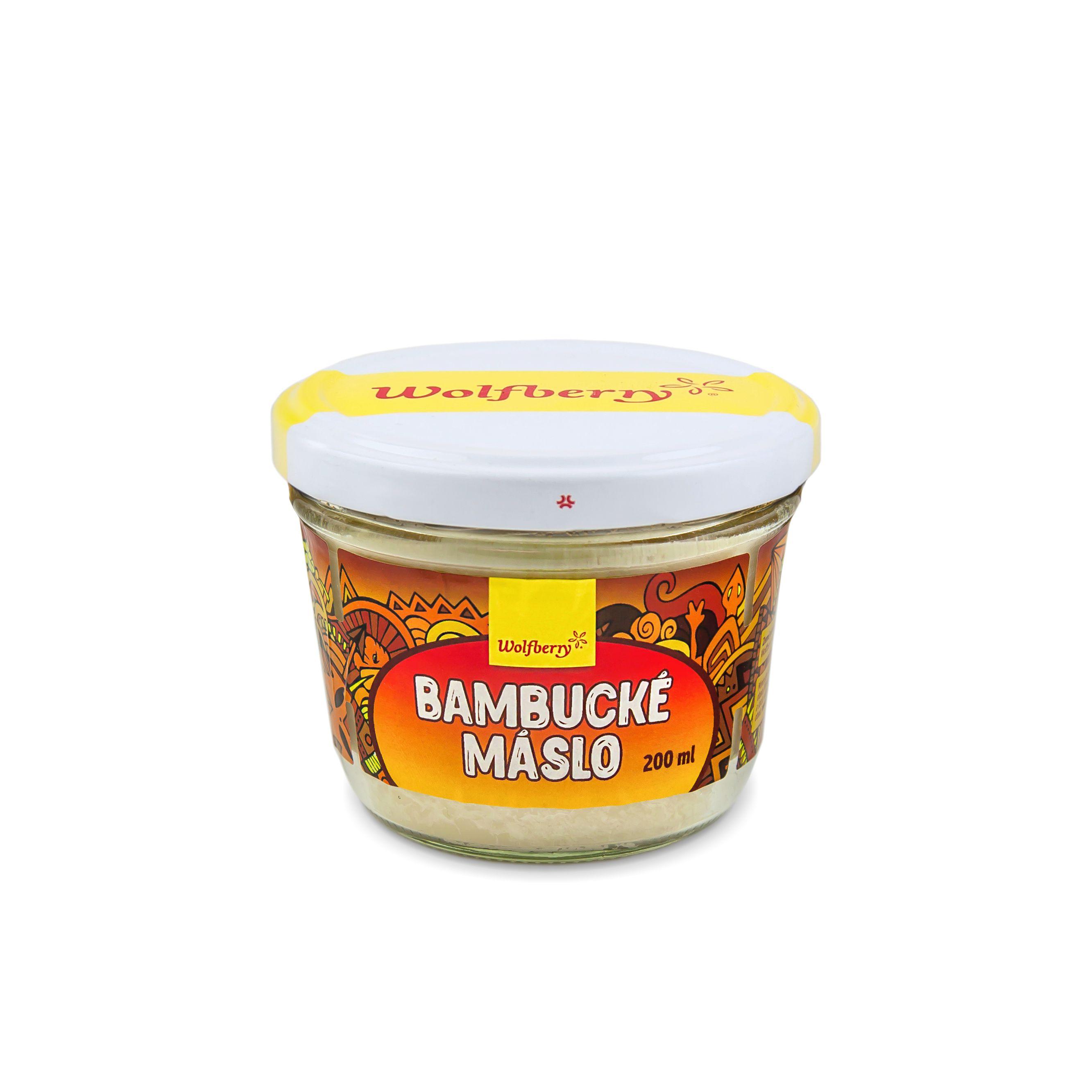 Wolfberry Bambucké maslo 200 ml Wolfberry 200 ml