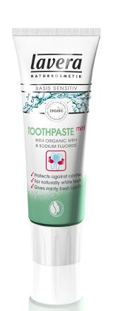 Zubná pasta s Mätou 75 ml