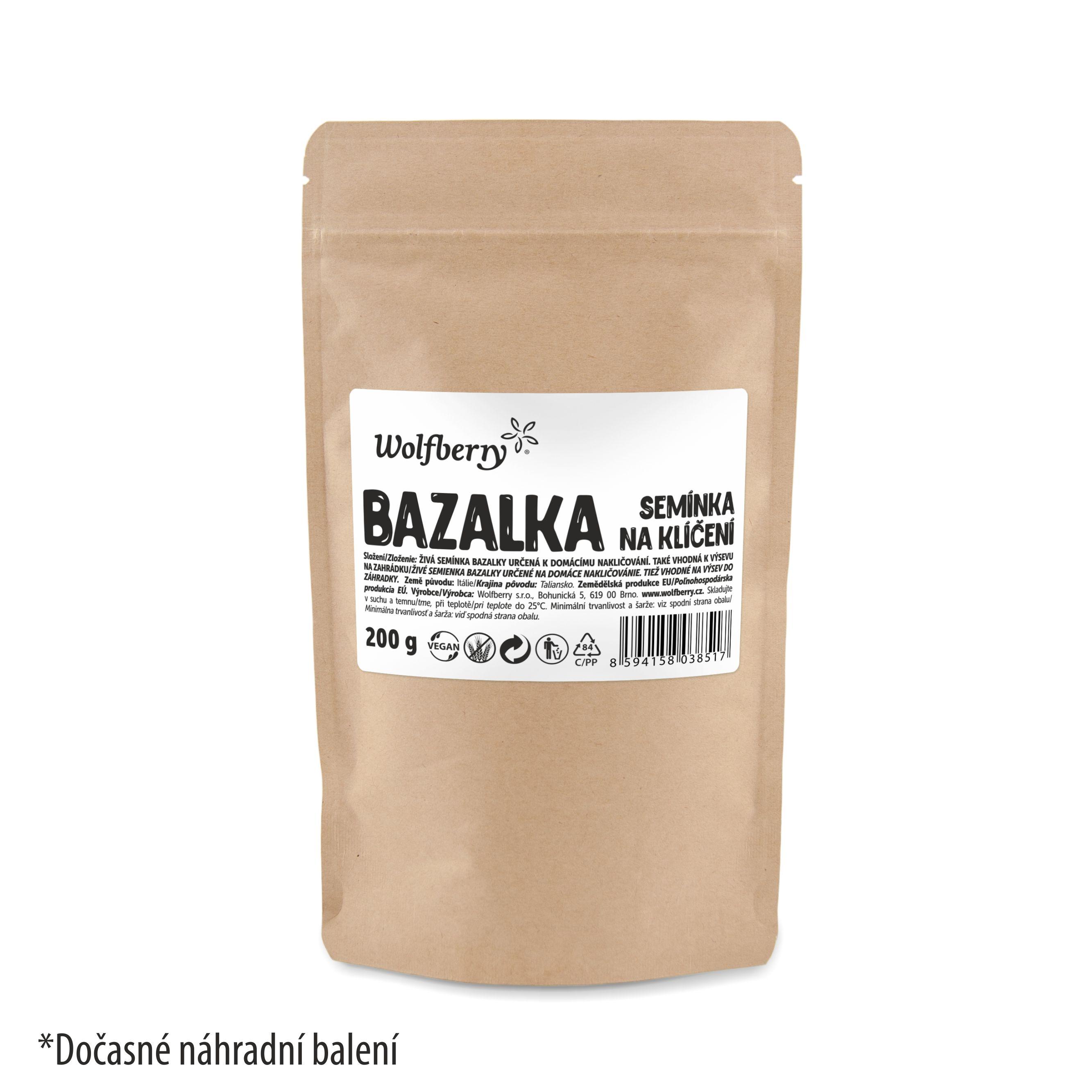 Wolfberry Bazalka semienka na klíčenie 200 g Wolfberry 200 g
