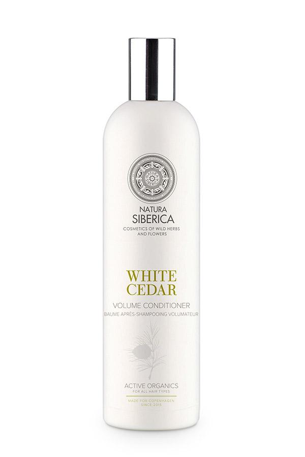 Natura Siberica Siberie Blanche - Biely céder - kondicionér pre objem 400 ml