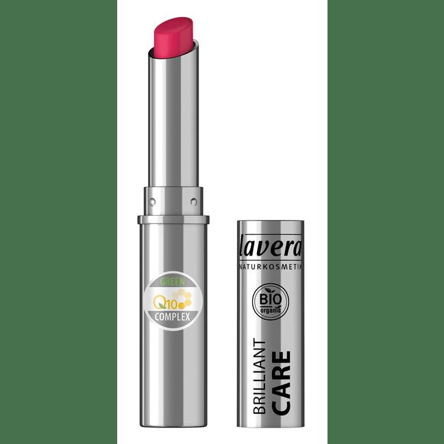 Tester Rúž Brilliant Care Q10 - 07 Čerešňovo červená 1,7 g
