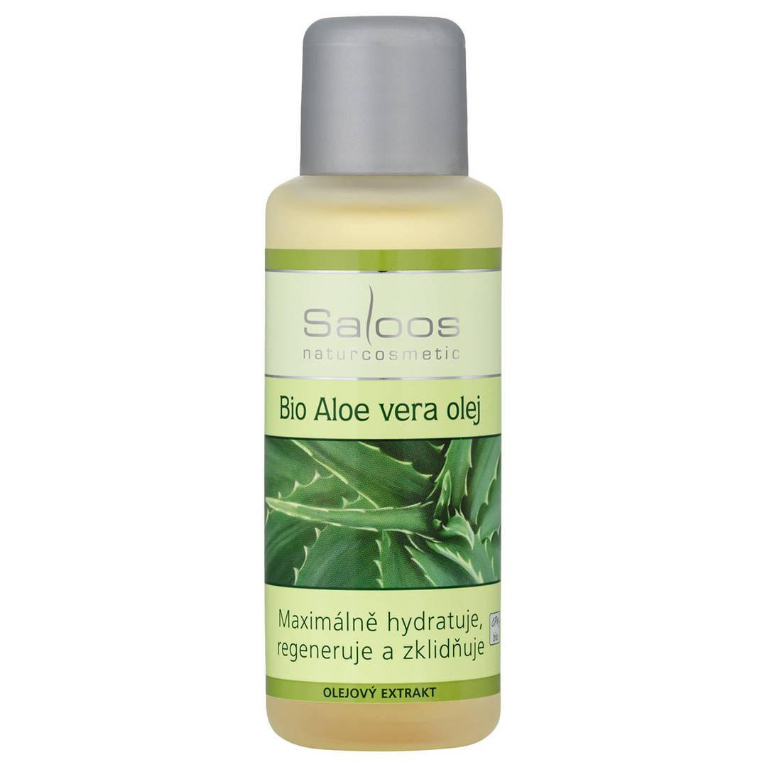 Saloos Bio Aloe vera olej 50 ml 50 ml