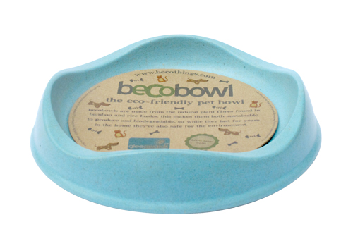 BeCoThings Miska pre mačku, BecoBowl-modrá, EKO 1 ks