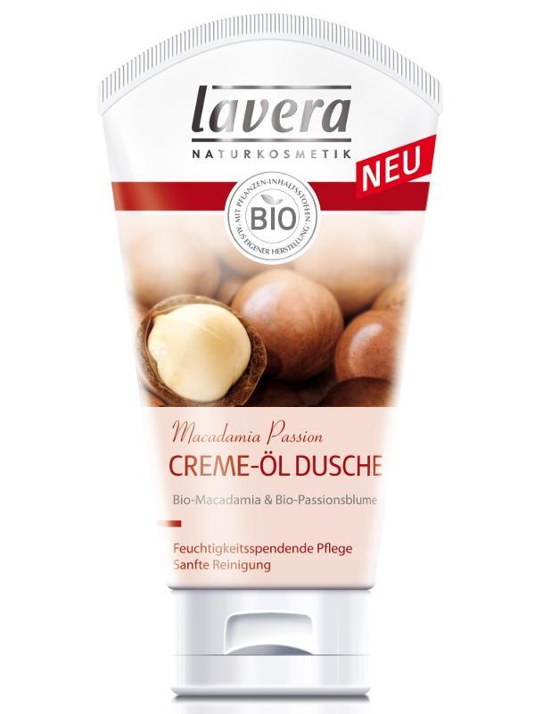Krémový sprchový olej BIO makadámiový orech a mučenka