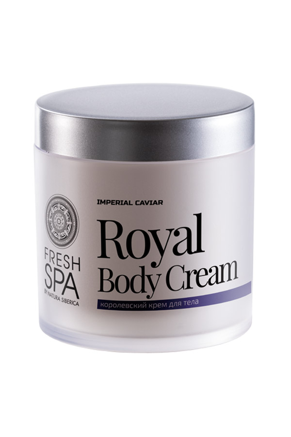 Natura Siberica Luxusný spevňujúci telový krém *Imperial Caviar* 400 ml