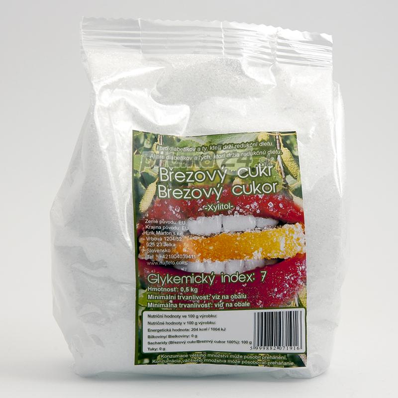 Xilovit CL Xylitol - cukor brezový 0,5 kg 0,5 kg