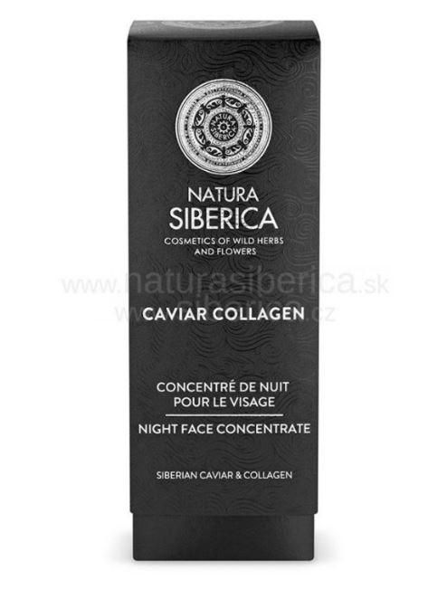 Natura Siberica Caviar Collagen - Nočný koncentrát na tvár 30ml