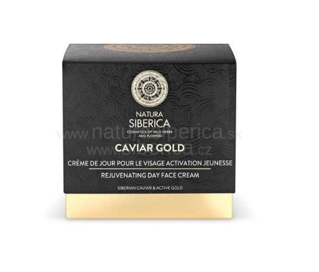 Natura Siberica Caviar Gold - Omladzujúci denný krém na tvár 50ml