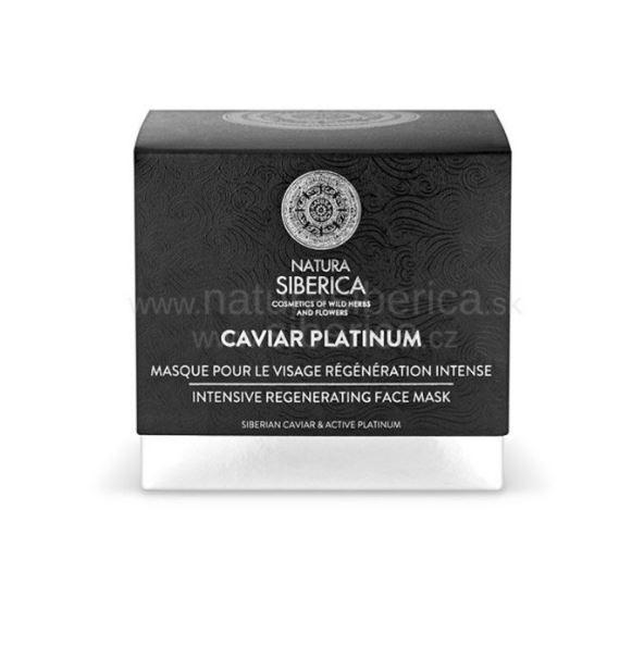 Natura Siberica Caviar Platinum - Intenzívna regeneračná maska na tvár 50ml