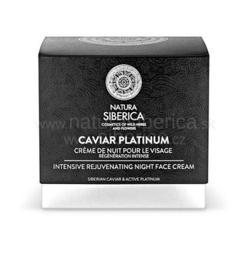 Akcia Použitý krém- Caviar Platinum - Intenzívny nočný omladzujúci krém na tvár 50ml