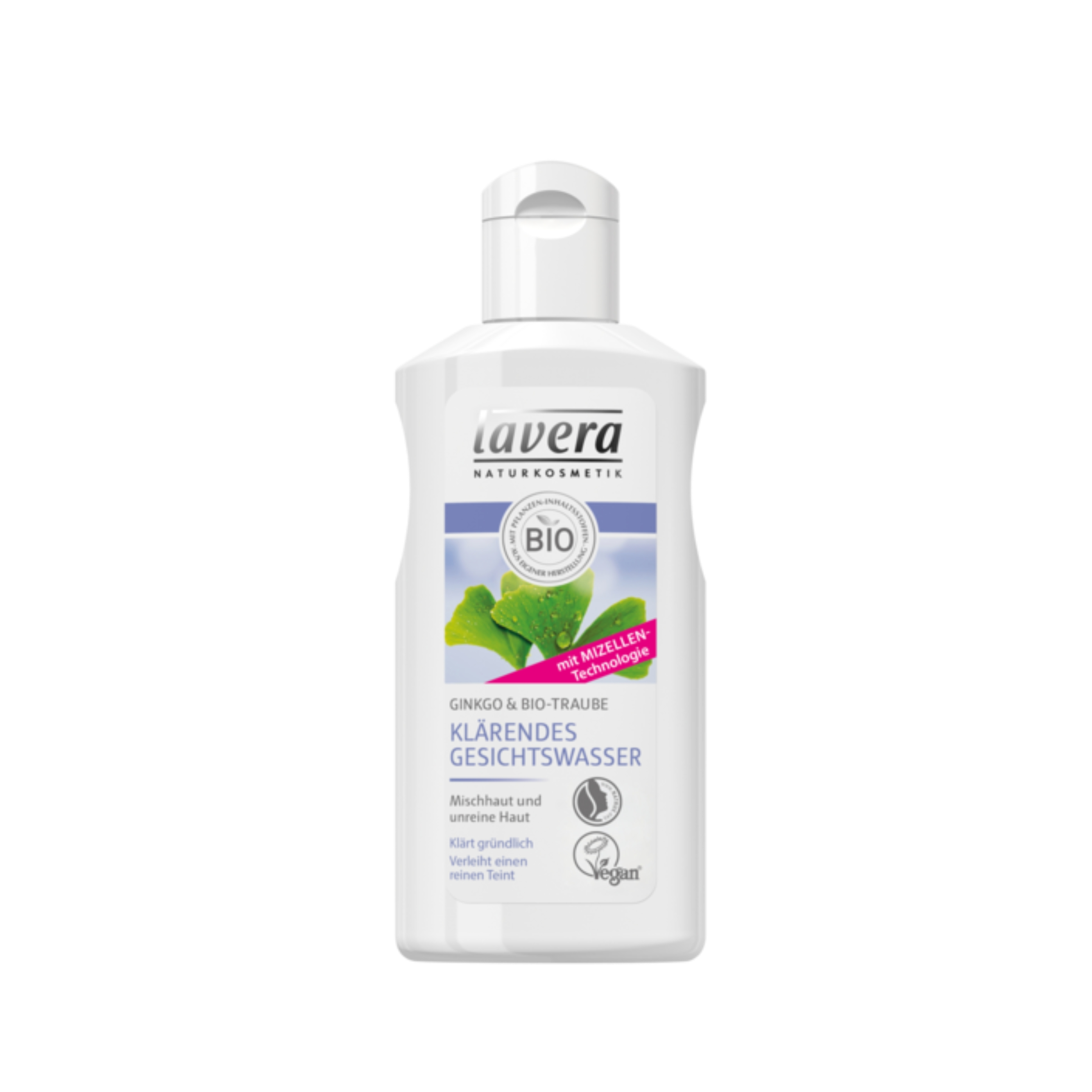 Čistiaca pleťová voda Ginkgo 125 ml Lavera