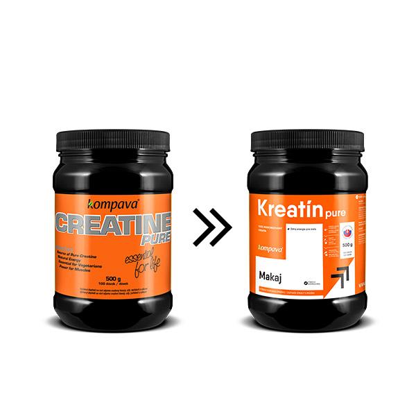 Kreatín Pure 500 g/100 dávok