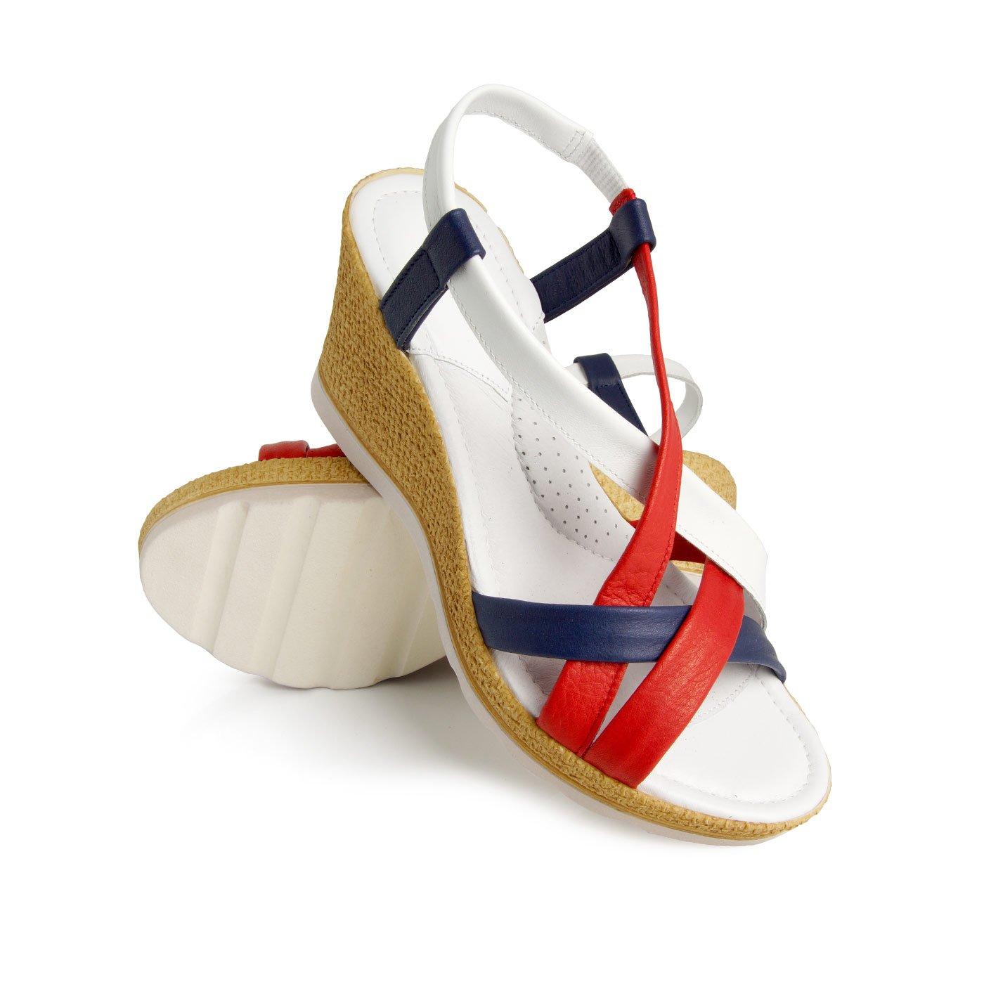 60406efabe162 Batz dámske zdravotné sandále Miami Red 37 - BIO a prírodná ...