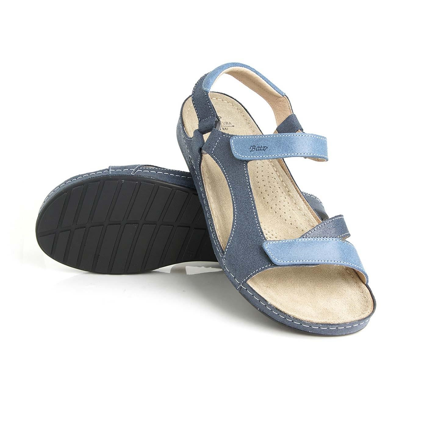 6910e7b887ec Batz dámske zdravotné sandále Tara Blue 41 - BIO a prírodná ...