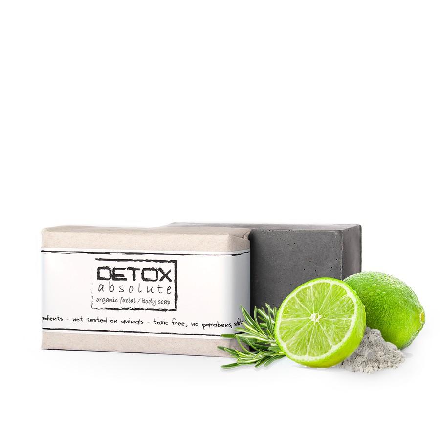 SOAPHORIA DETOX absolute - organické mydlo na tvár 100 g