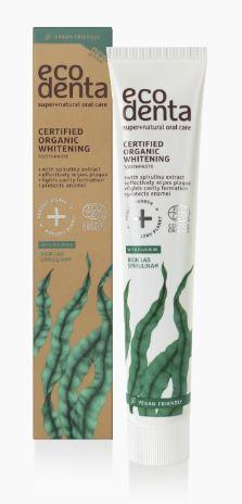 Ecodenta Organická bieliaca zubná pasta so spirulinou 75 ml 75 ml