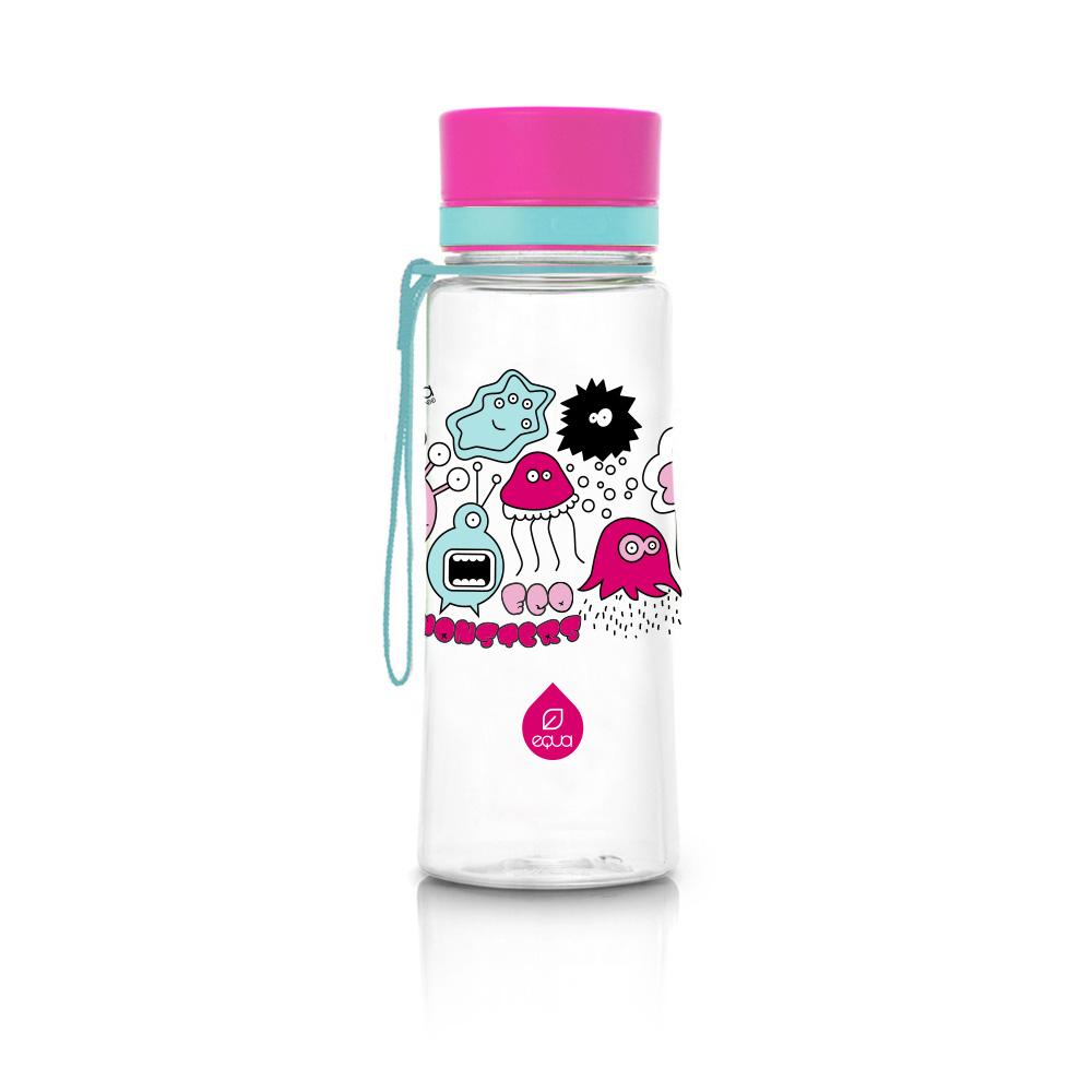Fľaša EQUA Pink Monsters New, 600 ml