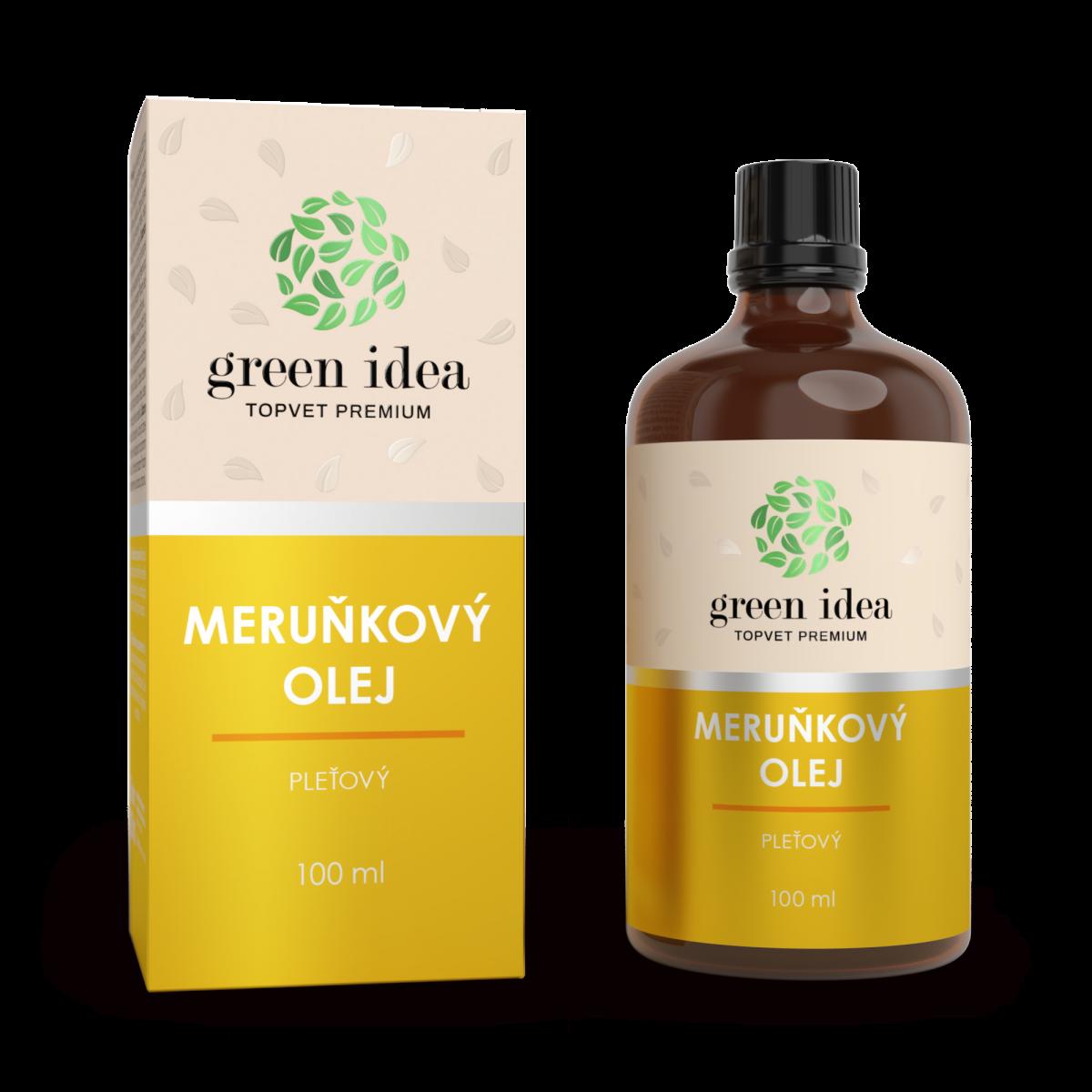TOPVET Marhuľový olej 100% 100 ml 100 ml