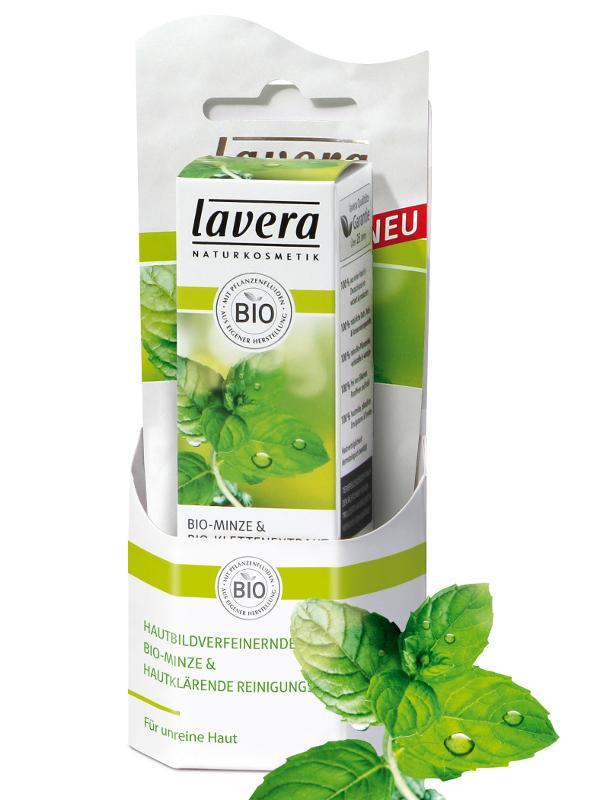 Zjemňujúci hydratačný fluid Bio Mäta + čistiaca maska