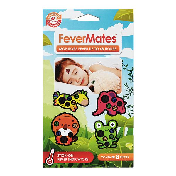 FeverMates FeverMates monitors nálepkové teplomery pre deti 8 ks 8 ks