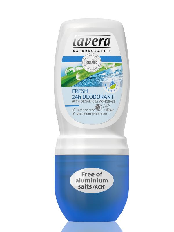 Lavera Jemný Roll-on Fresh 24h 51 ml